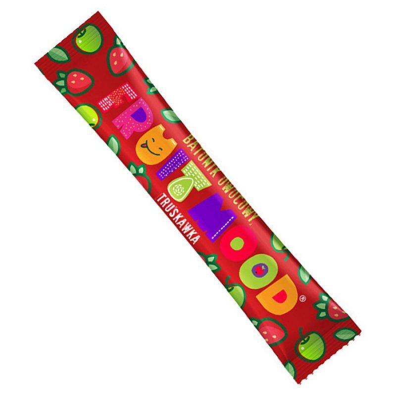 Batonik truskawkowy Fruit Mood Truskawka, 20g