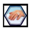 SIMBA Lalka Steffi Love w Sukni Ślubnej z Kryształami Swarovskiego