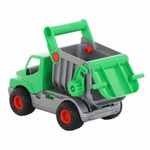Wader QT Samochód Zielona Wywrotka ConsTruck Gumowe Koła