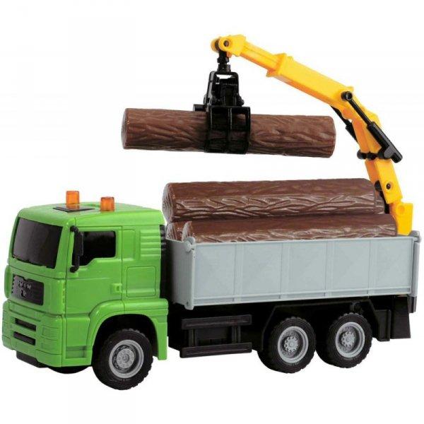 DICKIE Pojazdy Heavy City Truck Ciężarówka z dźwigiem