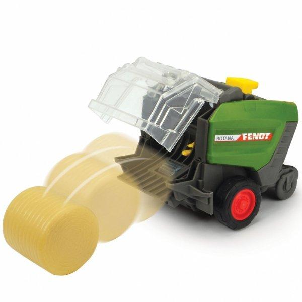 Dickie Happy Fendt Traktorek z Belownicą Światło Dźwięk