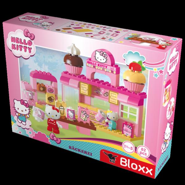 BIG Klocki Hello Kitty Cukiernia + 2 figurki (82el.)