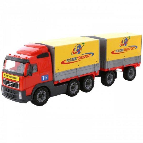 Wader QT Volvo Ogromna Ciężarówka z Przyczepą 75cm