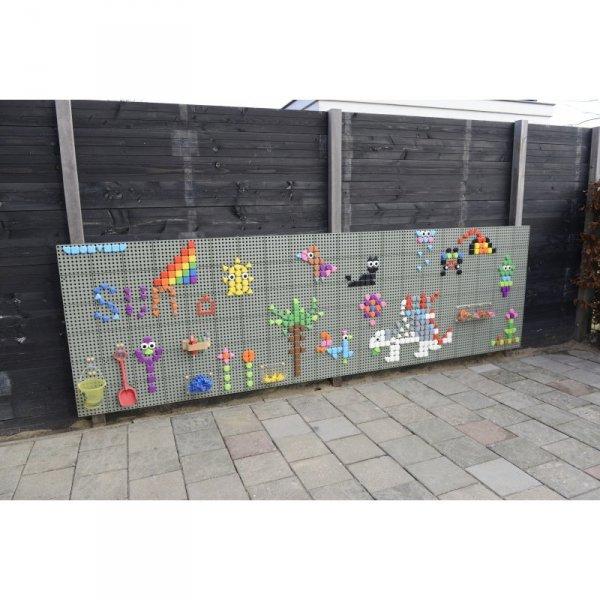 MASTERKIDZ Zestaw Kołeczki w kształcie figur geometrycznych 64szt do tablic STEM