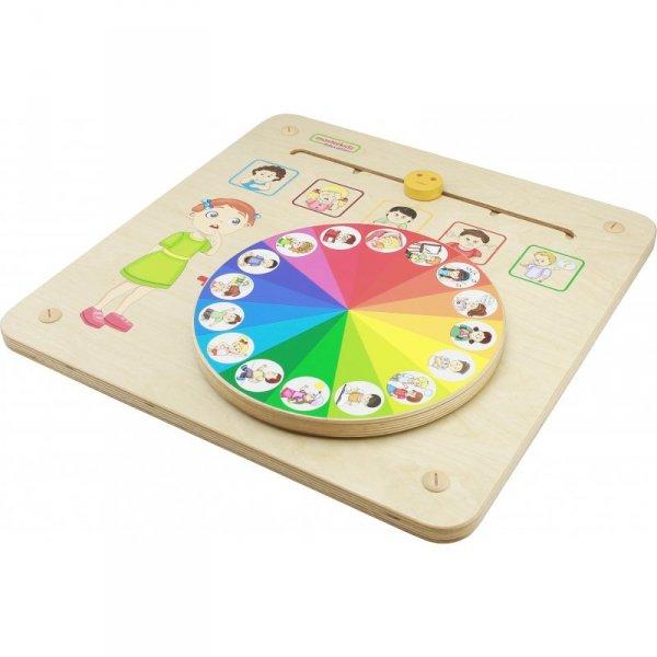MASTERKIDZ Tablica Edukacyjna Zarządzanie Emocjami Nauka Emocji