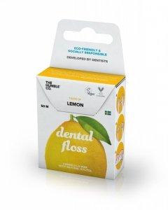 Humble Brush, Nić dentystyczna o smaku cytryny, LEMON, 50 m
