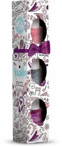 Snails, Zestaw lakierów Mini MUSIC, 3 szt.