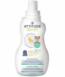 Attitude, Sensitive Skin Baby, Delikatny płyn zmiękczający do płukania tkanin dziecięcych, 1L