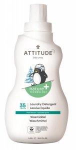 Attitude, Płyn do prania ubranek dziecięcych, Gruszkowy Nektar (Pear Nectar) 35 prań, 1050 ml