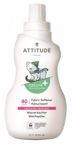 Attitude, Płyn do płukania ubranek dziecięcych, Bezzapachowy, 1L