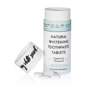 My White Secret, Tabletki do mycia zębów, Peppermint, 60 szt.