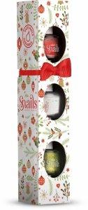 Snails, Zestaw lakierów CHRISTMAS, Festive Mini, 3szt.