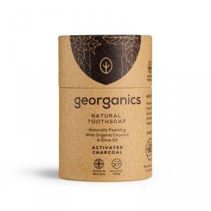 Georganics, Mydło do czyszczenia zębów, Activated Charcoal, 60 ml