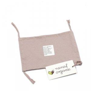 Nanaf Organic, Jednowarstwowa maska, różowa