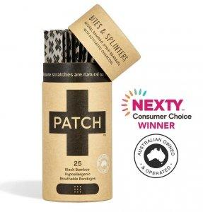 Patch, Naturalne plastry samoprzylepne z aktywnym węglem, 25 szt.