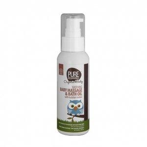 Pure Beginnings Organic Baby, Dziecięcy olejek do kąpieli i masażu, 100ml