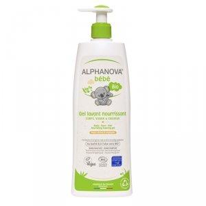 Alphanova Bebe, Odżywczy żel do mycia skóry suchej i atopowej, 500ml