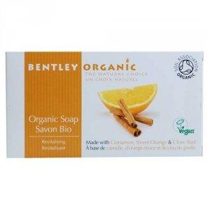 Bentley Organic, ODŻYWIAJĄCE Mydło z Cynamonem, Słodką Pomarańczą i Goździkami, 150 g