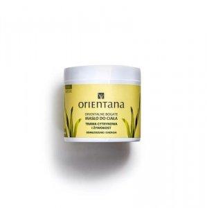 Orientana, Orientalne bogate masło do ciała TRAWA CYTRYNOWA I ŻYWOKOST, 100g