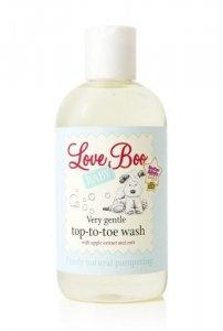 Love Boo, Delikatny Żel do mycia ciała i włosów 2w1 dla Maluszka, 250ml