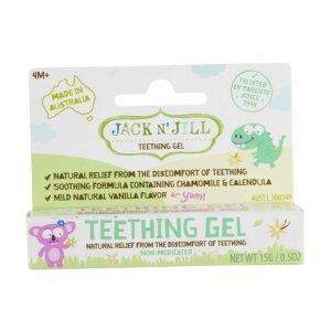Jack N'Jill, Naturalny żel łagodzący ząbkowanie, 15g