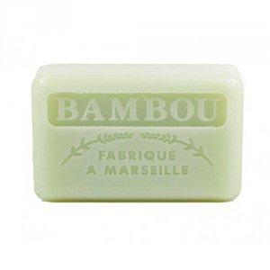 Mydło marsylskie BAMBUS masło shea 125g