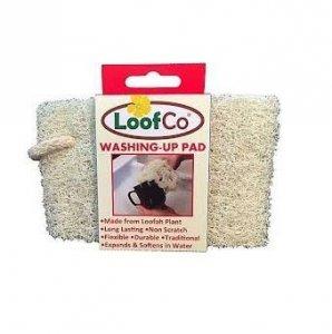 Myjka do naczyń z naturalnej rośliny Loofah