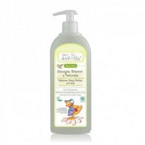 Płyn do mycia butelek i smoczków z surfaktantem z oliwy z oliwek z upraw ekologicznych 500ml
