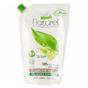 Mydło do mycia rąk z ekstraktami organicznymi z zielonej herbaty brzozy i aloesu 500 ml uzupełnienie