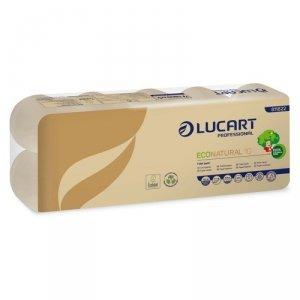 ECONATURAL Papier Toaletowy z recyklingu 190 listków 10szt