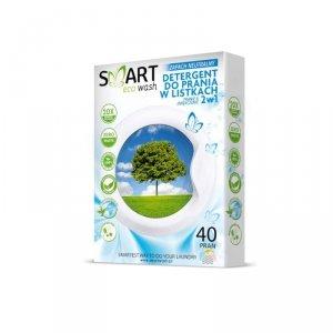 Biodegradowalne listki do prania i zmiękczania Zapach Neutralny 40 prań