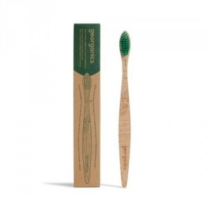 Ekologiczna szczoteczka z drewna bukowego MEDIUM Włosie średnie