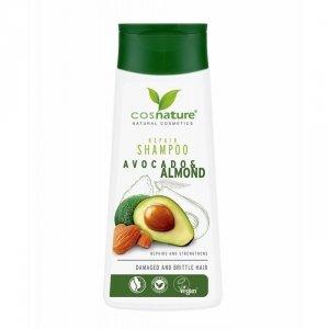 Naturalny regenerujący szampon do włosów z awokado i migdałami
