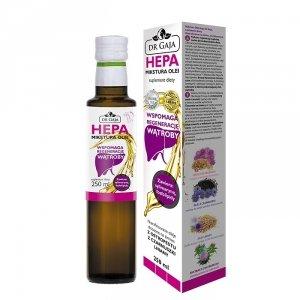Mikstura Olei HEPA olej z ostropestu z czarnuszki lniany SYLIMARYNA suplement diety 250ml