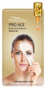 7th heaven - Renew You Pro Age Deep Skin Balance maseczka przeciwzmarszczkowa w płachcie w witaminą B5 1szt