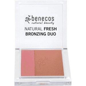 Benecos - Natural Fresh Bronzing Duo naturalny podwójny puder brązujący Ibiza Nights 8g