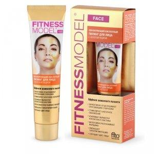 Fito cosmetics - Fitness Model regenerujący kwasowy peeling do twarzy ze złotym pudrem 45ml