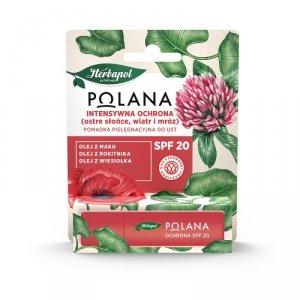 Polana - Intensywna Ochrona SPF20 pomadka pielęgnacyjna do ust 4.7g