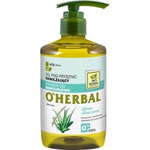 O'herbal - Shower Gel Moisturizing żel pod prysznic nawilżający z ekstraktem z aloesu 750ml