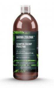 Barwa - Ziołowa szampon ziołowy do włosów przetłuszczających się Pokrzywa 480ml