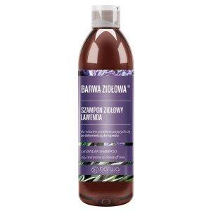 Barwa - Ziołowa szampon ziołowy do włosów przetłuszczających się ze skłonnością do łupieżu Lawenda 250ml