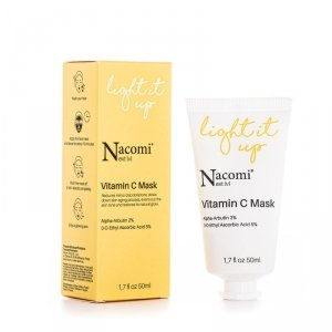 Nacomi - Next Level Vitamin C Mask rozjaśniająca maska z witaminą C 50ml