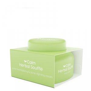 Nacomi - Calm Herbal Souffle kremowy suflet wyciszający przeciwtrądzikowy do twarzy 50ml