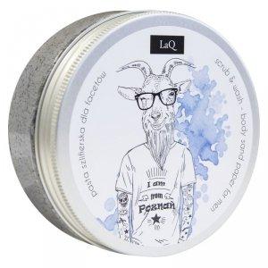 Laq - Scrub & Wash peeling myjący do ciała dla facetów z węglem aktywnym 200ml