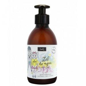 LaQ - Naturalny żel do kąpieli o zapachu gumy balonowej z ekstraktem z mleka ryżowego 300ml