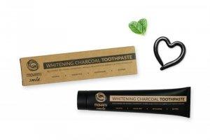 Mohani - Smile Whitening Charcoal Toothpaste naturalna pasta wybielająca z węglem aktywnym 75ml