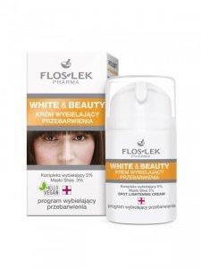 Floslek - White & Beauty krem wybielający przebarwienia 50ml