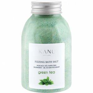 Kanu nature - Fizzing Bath Salt sól musująca do kąpieli Zielona Herbata 250g