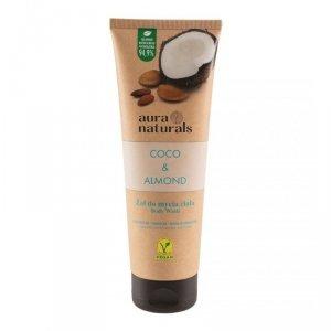 Aura naturals - Coco & Almond żel do mycia ciała 250ml