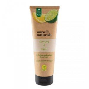 Aura naturals - Lemon & Lime żel do mycia ciała 250ml